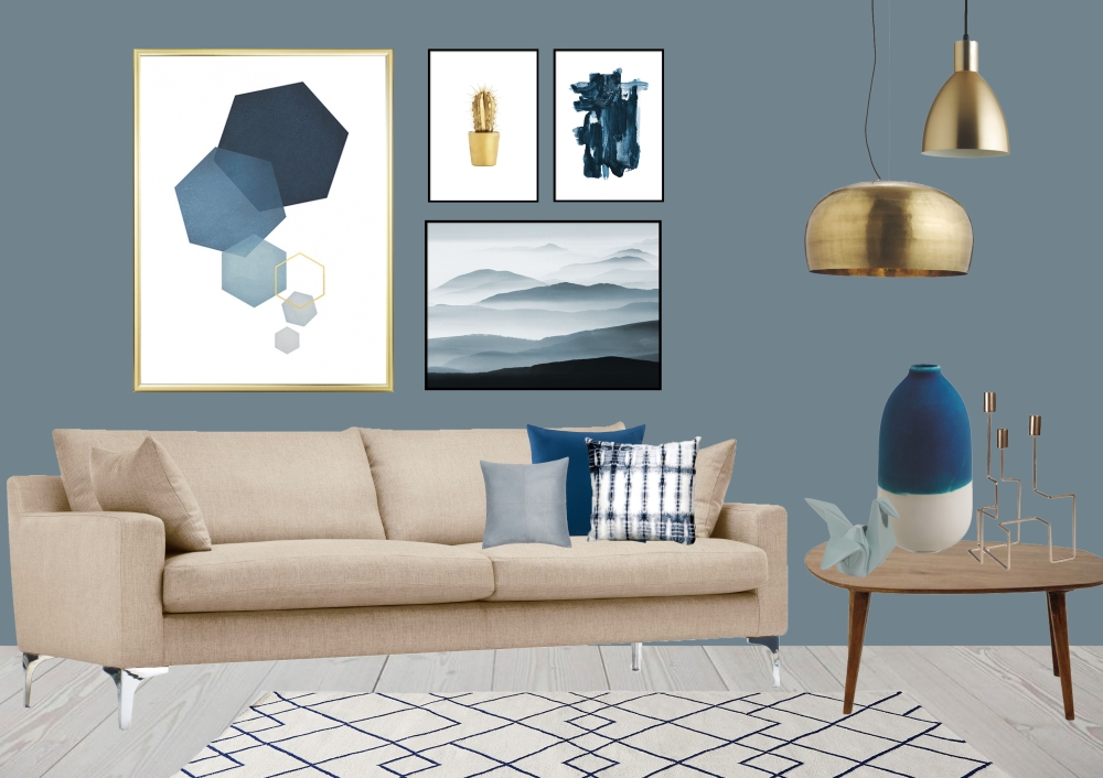 Introducing Dulux's Colour of the year: Denim Drift  Blue is the colour of our every day. The sky above us. The clothes we wear. And as of this year, the colour to paint on our walls.It is truly adaptable, fitting into all life and interior styles, making it the perfect choice for reflecting a new perspective for 2017.