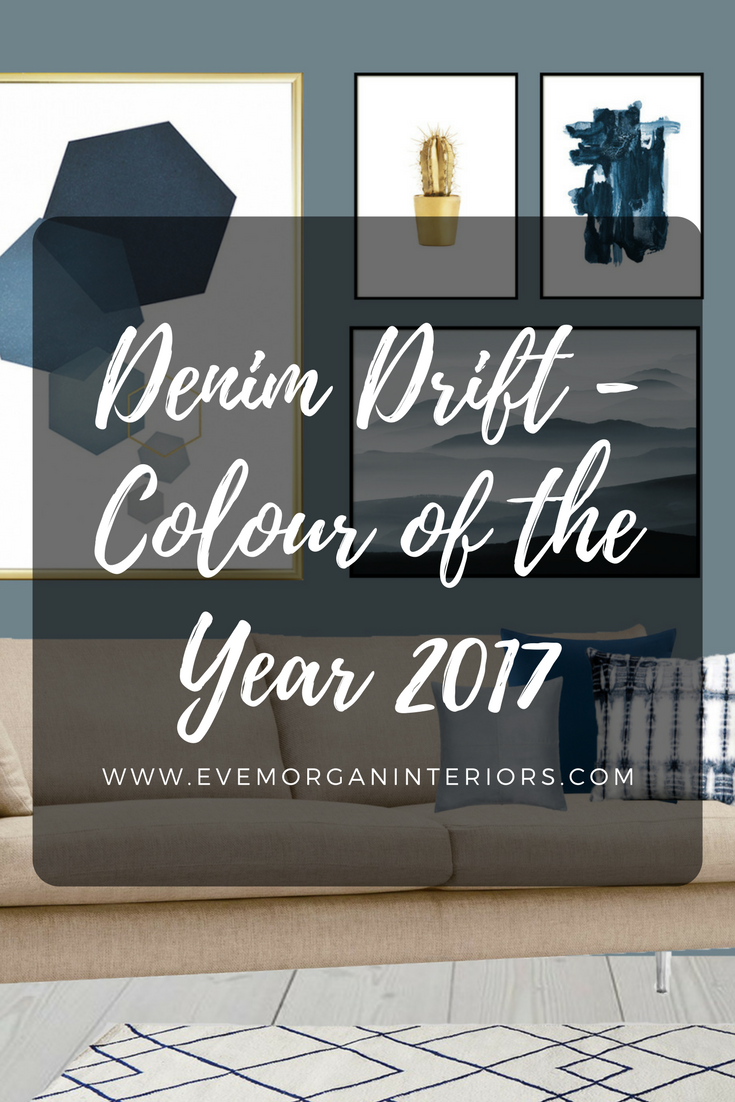 Denim Drift - Colour of the year 2017. Blue is the colour of our every day. The sky above us. The clothes we wear. And as of this year, the colour to paint on our walls.It is truly adaptable, fitting into all life and interior styles, making it the perfect choice for reflecting anew perspective for 2017.