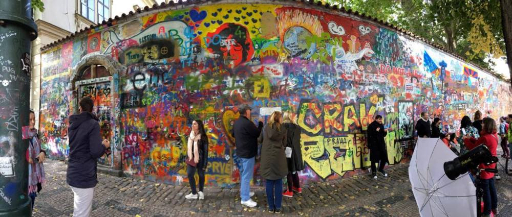 Prague lennon wall