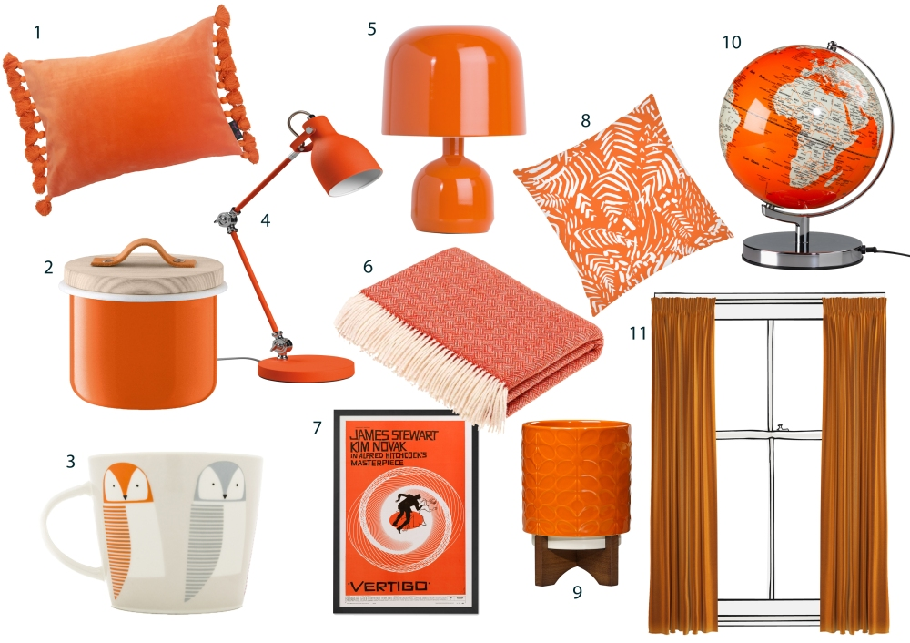 Burnt Orange: The Hottest Colour For Your Home This Summer