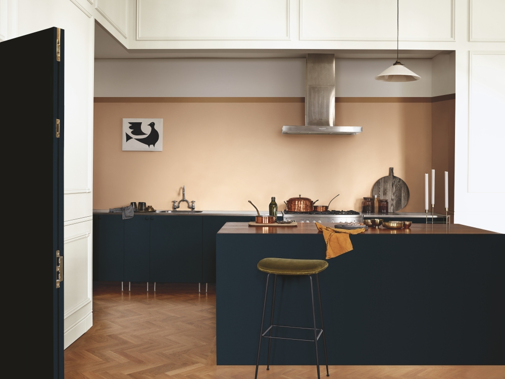 Dulux, the UK's leading paint brand, has revealed its coveted Colour of the Year for 2019, duly named Spiced Honey.Chosen by Dulux colour experts to reflect the new positive mood of the moment, Spiced Honey has a warm amber tone, inspired by the beauty and versatility of honey itself.